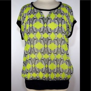 Two by Vince Camuto sheer blouse Med - gently used